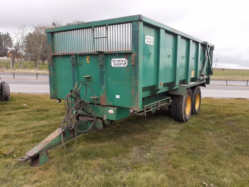 armstrong and holmes 12 tonne trailer (866)