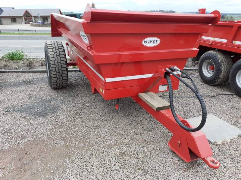 8 tonne McKee Dump Trailer - INSTOCK (875)