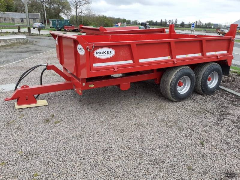 8 tonne dropside McKee trailer - AVAILABLE NOW (877)