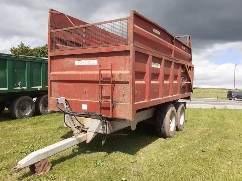 10 tonne Marshall complete with silage sides (885)