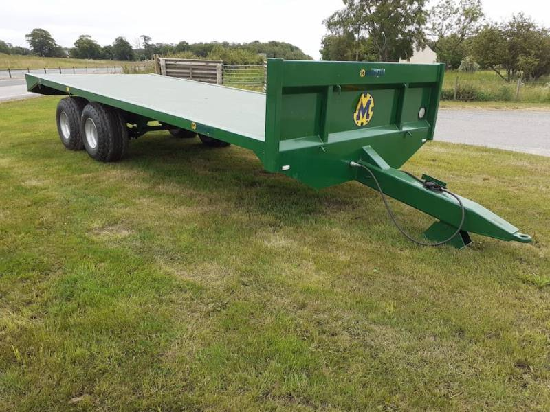 21ft Bale Trailer available for immediate delivery (899)