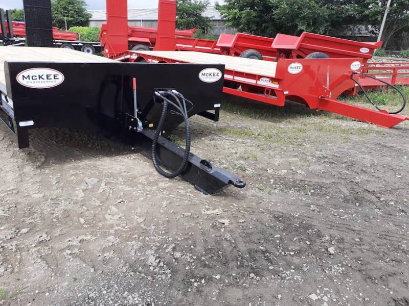 2 x McKee 23ft 19 tonne low loaders - BOTH IN STOCK NOW (905)