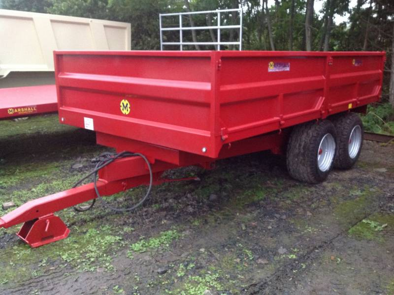 Marshall 13ft dropside trailer (111)