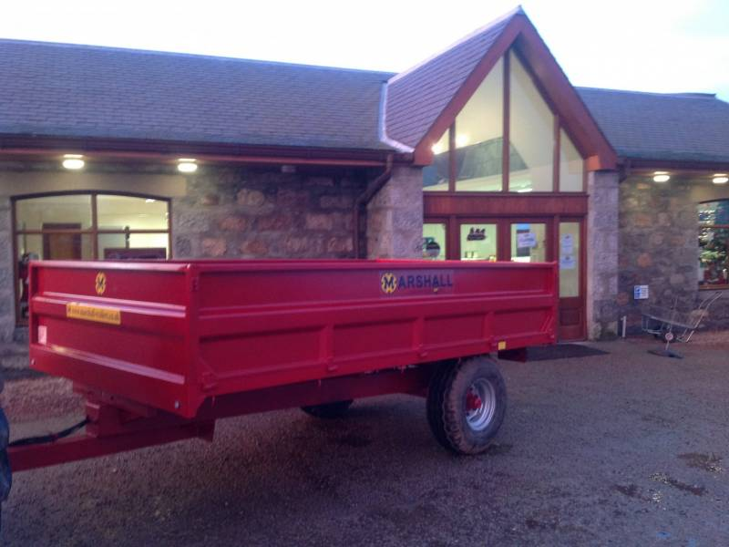 6 tonne dropside Marshall trailer (119)
