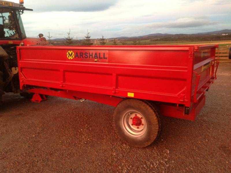 5 tonne Marshall dropside trailer (118)